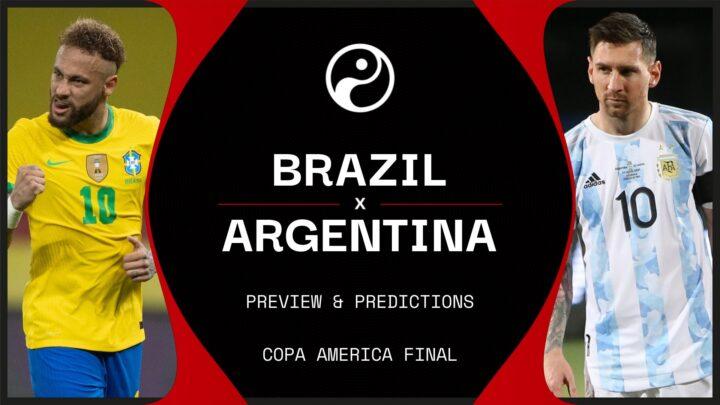 Saksikan Final Copa America 2021 – Laga Klasik dan Megah Argentina Vs Brazil